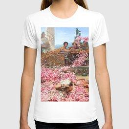 Lawrence Alma-Tadema - The Roses Of Heliogabalus - Digital Remastered Edition T-shirt