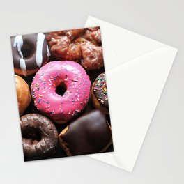 Mmmm Donuts Stationery Cards