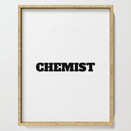 Best Chemist Chemistry Great Gift Idea Christmas Serving Tray