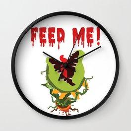 Little Shop of Horrors | Aubrey II | Feed Me Wall Clock