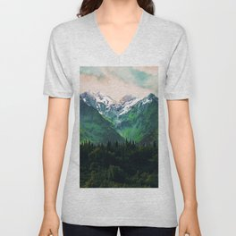 Escaping from woodland heights IV Unisex V-Neck