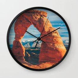 Delicate Arch Wall Clock