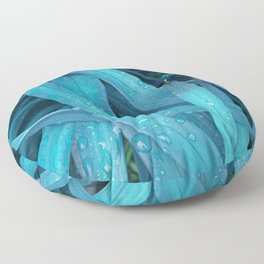 Tangled in Teal Floor Pillow