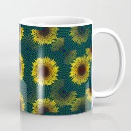Quarters of sunflowers Coffee Mug