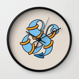 Et Anchor Wall Clock