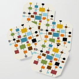 Mid-Century Modern Art 1.3 Coaster