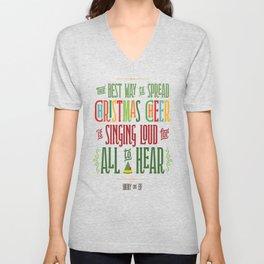 Buddy the Elf - Christmas Cheer Unisex V-Neck