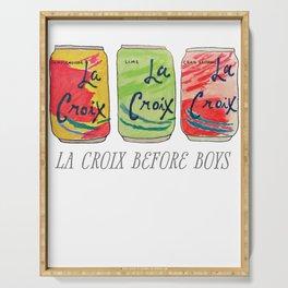 La Croix Before Boys Serving Tray
