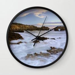 Ancient Bay Wall Clock