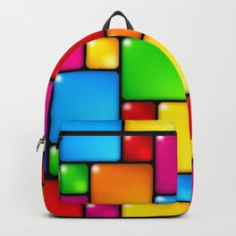 Colors and squares Backpack
