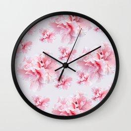 Pink Azalea Flower Dream #1 #floral #pattern #decor #art #society6 Wall Clock