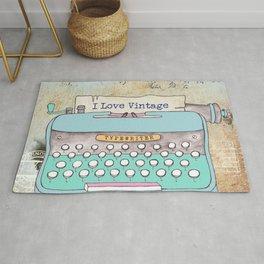 Typewriter #3 Rug