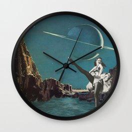 Planet Pin-Up Wall Clock