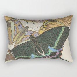 E.A.Séguy - Papillons / Butterflies (1925) Plate 8 Rectangular Pillow