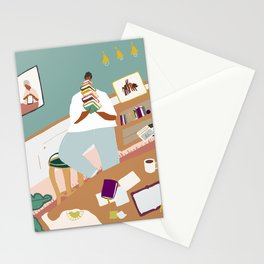Perks of a Library Card Stationery Cards