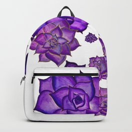 Lavender Succulents in the Sunshine Backpack