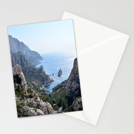 Calanque de Sugiton in Marseille - Beautiful France Stationery Cards
