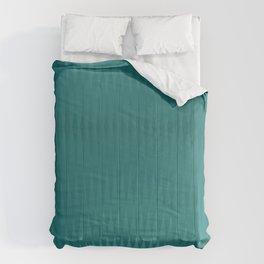 Cyan pattern Comforters
