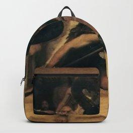 Lawrence Alma-Tadema - A Pyrrhic Dance Backpack