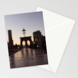 Blurry Reflections Stationery Cards
