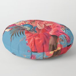 All the Springs She Remembered Floor Pillow