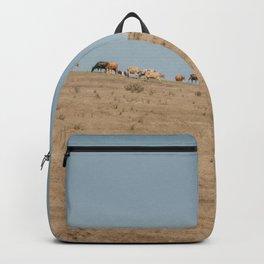 Cattle Graze Backpack