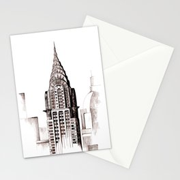 Chrysler Building, NYC Stationery Cards