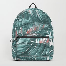 tropical blue Backpack