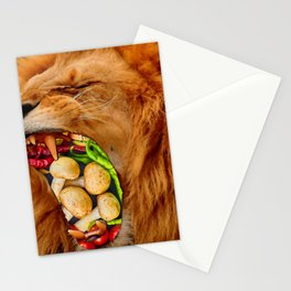 Yuckyuck!!! - Vegetarian!!! Stationery Cards