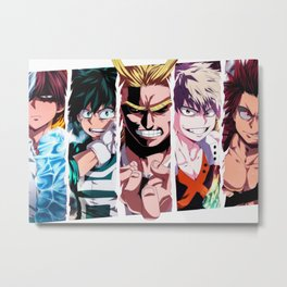 Boku no Hero Academia Metal Print
