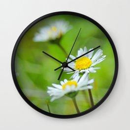 Dream flowers Wall Clock