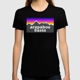 Arapahoe Basin Colorado A Basin Ski Snowboard Resort Keystone Loveland T-shirt