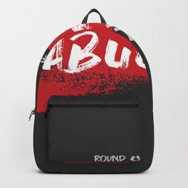 Abuget black Backpack