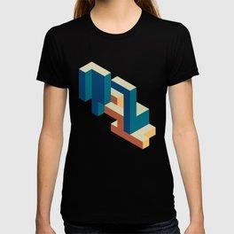 Isometric Random Cubes T-shirt