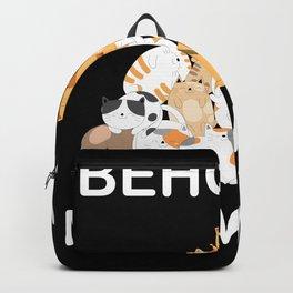 Behold A Meowtain shirt Backpack