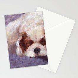 Sleeping Dog Stationery Cards