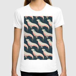 Fur seal, sea lion pattern T-shirt