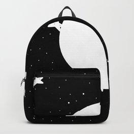 Moon Phases: last quarter Backpack