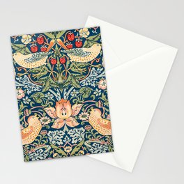 William Morris The strawberry thieves pattern  1883 Stationery Cards