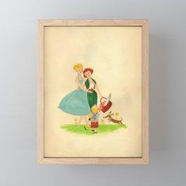 Happy Family IV Framed Mini Art Print