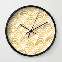 Art Deco Sunrise Wall Clock