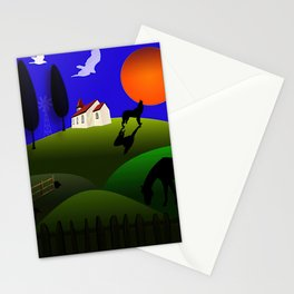 Melancholy In Lockdown Stationery Cards