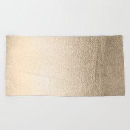 White Gold Sands Beach Towel