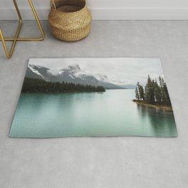 Landscape Photography Maligne Lake Rug