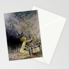 """Pandora Opens the Box"" by Arthur Rackham Stationery Cards"