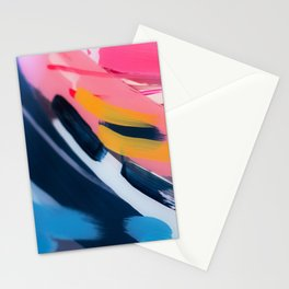 Even After All  #1 - Abstract on perspex by Jen Sievers Stationery Cards