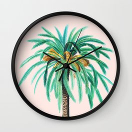 Coconut Island #society6 #decor #buyart Wall Clock