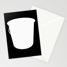 Pail Container Vessel Stationery Cards