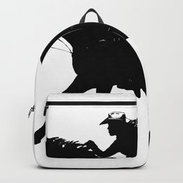 Cowgirl - Horse Rider Backpack