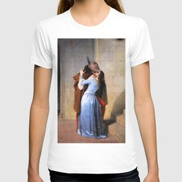 The Kiss - Francesco Hayez T-shirt